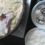 IMG 0035 150x150 - 真鯛のあら汁鍋と塩レモンなサロマ湖の生牡蠣