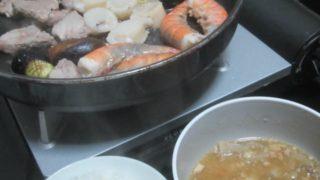 IMG 0036 1 320x180 - ホタテとエビとの海鮮焼きに鮟鱇の味噌汁を添えて