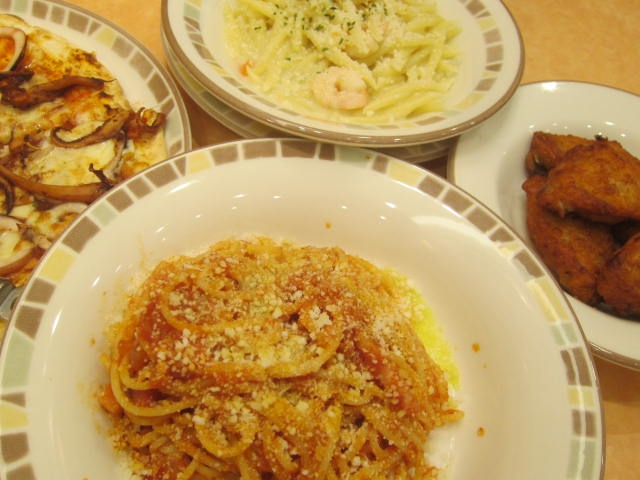 IMG 0037 1 - ホタテとエビとの海鮮焼きに鮟鱇の味噌汁を添えて