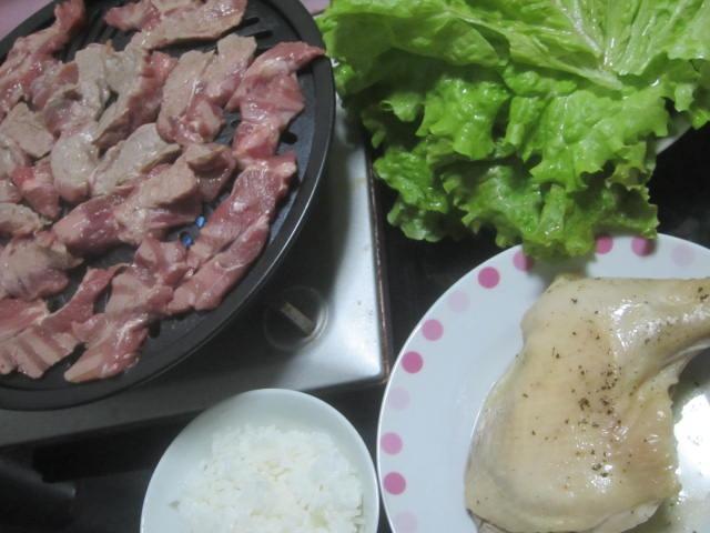 IMG 0038 - 葉っぱモノでお肉をくるんでもぐもぐするタイプの焼肉