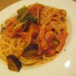 IMG 0062 150x150 - ベーコンと茄子のトマトソースにマルゲリータなランチ