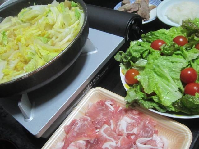 IMG 0095 - お肉食べ過ぎたので野菜主体の豚しゃぶしゃぶ