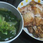 IMG 0121 150x150 - ロティサリーチキンとわかめスープの炭水化物抜きな晩飯