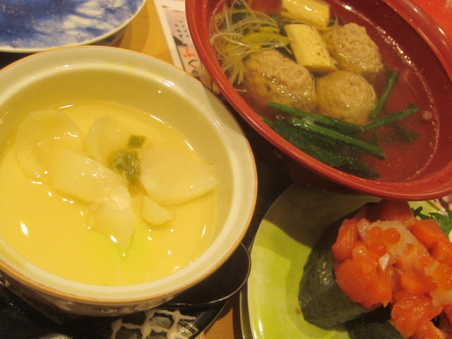 IMG 0060 - 変り種な寿司の生ハムチーズロールをなごやか亭で頂いてきました