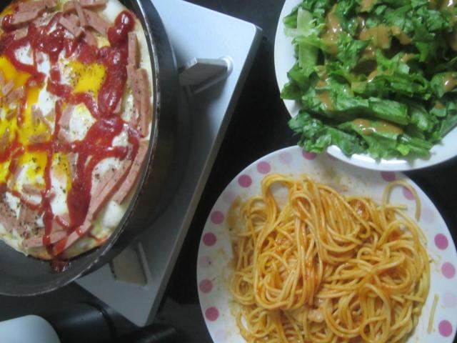 IMG 0015 - スパムを散りばめたビスマルクなピザ