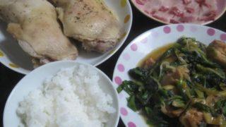 IMG 0019 320x180 - がっつりチキンレッグと鶏照り焼き&ほうれん草の中華風炒め