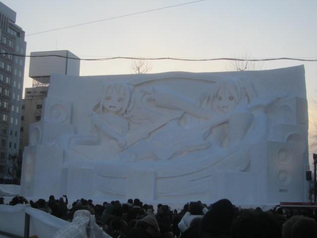 IMG 0021 - さっぽろ雪祭り2019 / ミクが大雪像のところに進出してました