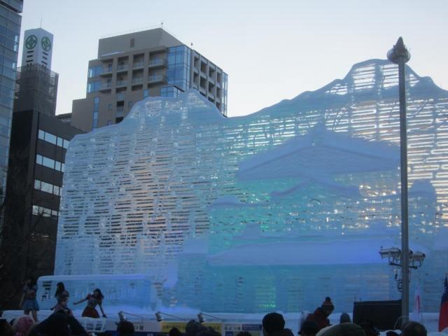 IMG 0023 - さっぽろ雪祭り2019 / ミクが大雪像のところに進出してました