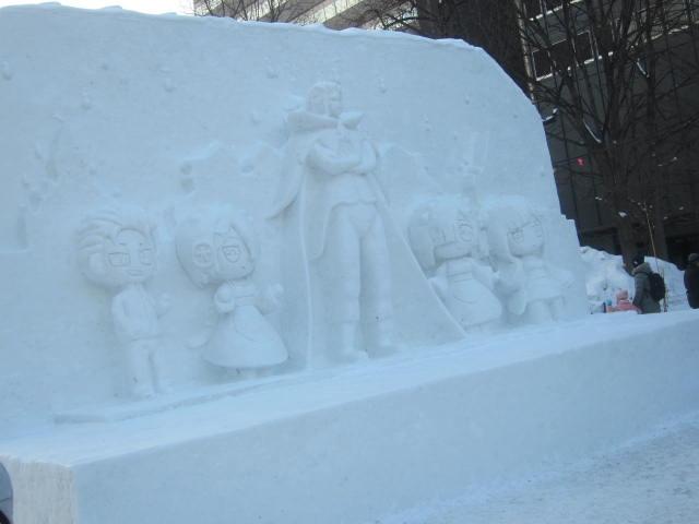 IMG 0024 - さっぽろ雪祭り2019 / ミクが大雪像のところに進出してました
