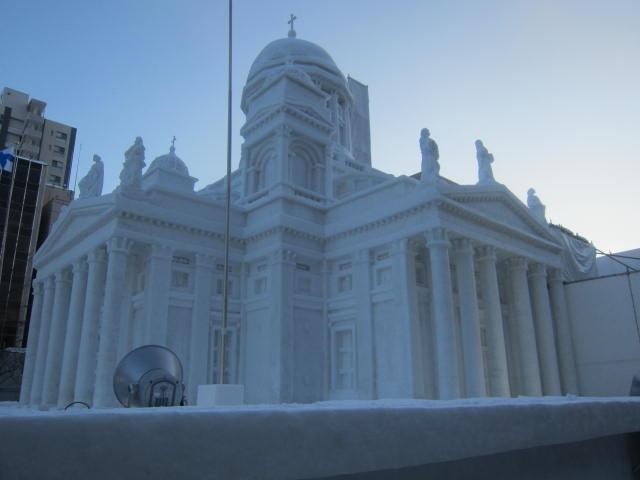 IMG 0027 - さっぽろ雪祭り2019 / ミクが大雪像のところに進出してました
