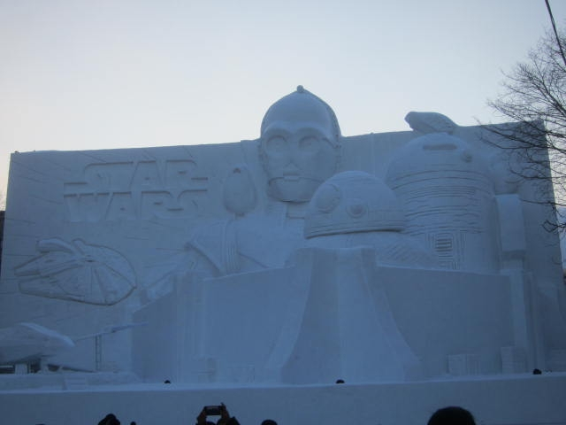 IMG 0030 - さっぽろ雪祭り2019 / ミクが大雪像のところに進出してました
