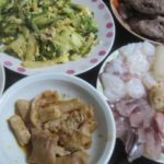 IMG 0045 150x150 - お刺身セットとゴーヤの炒め物に豚のモツ焼き晩御飯