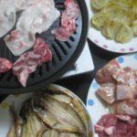 IMG 0048 150x150 - 焼きたまねぎのカレー粉がけを沿えて牛豚鶏の3種焼肉