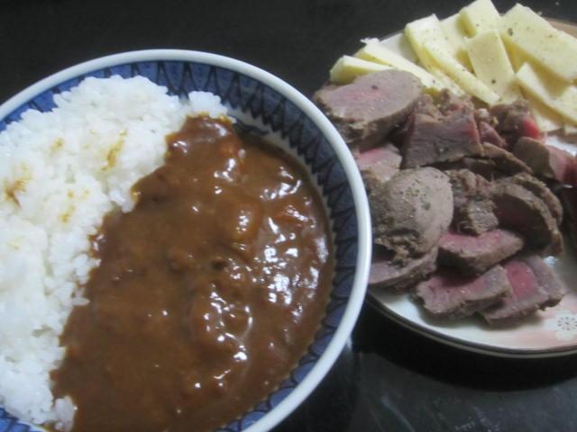IMG 0051 - 自作ローストビーフを干し肉にしたりなんだりしつつカレー