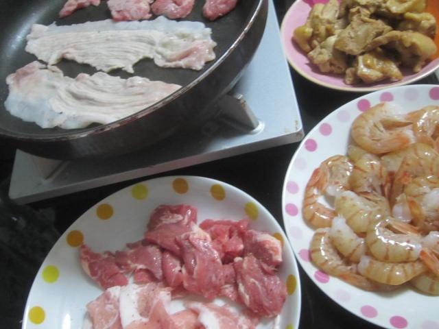 IMG 0004 - 寿司屋で食べた春独活の巻物と桜鯛の握り梅漬け春牛蒡乗せ