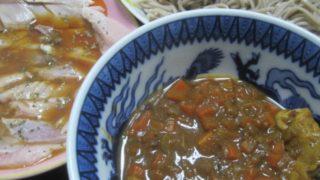 IMG 0027 320x180 - 湯引きしたブリの刺身にポン酢かけてカレー蕎麦