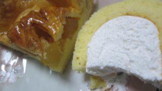 IMG 0055 320x180 - 豊富町産牛乳なロールケーキと柳月のアップルパイ