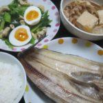 IMG 0063 150x150 - 肉豆腐と礼文のホッケに網走地鶏の小松菜炒め