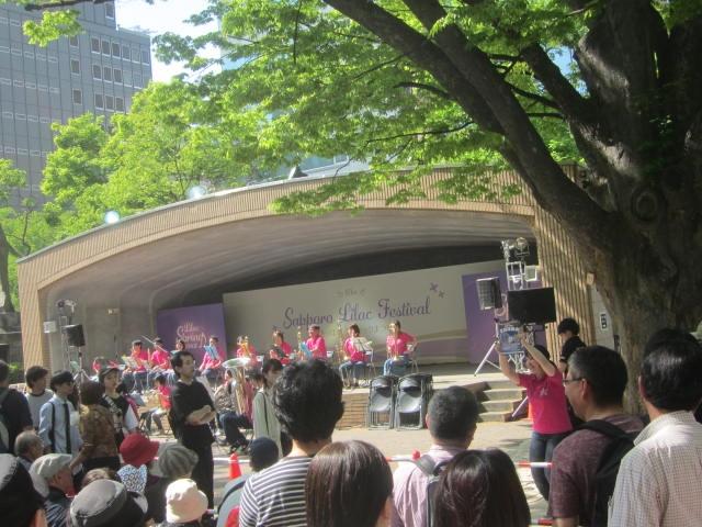 IMG 0098 - 大通公園のライラック祭り2019をそっと眺めてきた
