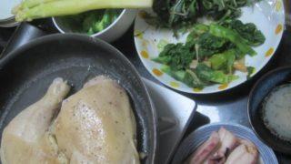 IMG 0006 320x180 - 白ワイン蒸しにした骨付き鶏肉とホワイトアスパラ