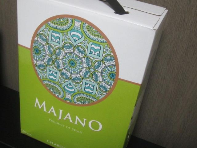 IMG 0133 - マハーノシャルドネ(MAJANO Chardonnay)ってゆー箱ワイン貰いました