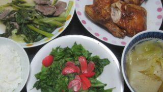 IMG 0137 320x180 - カブのコンソメスープ煮とポールズなチキンと昨日の残り物