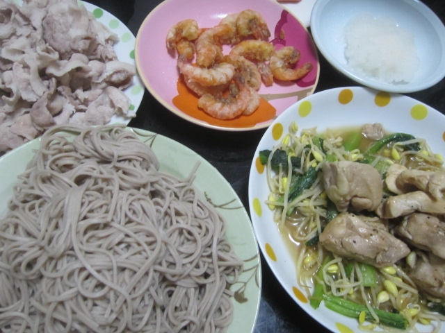 IMG 0021 - 蕎麦と共にひたすらお肉(豚肉&鶏肉)を食べました