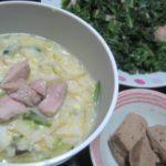 IMG 0027 150x150 - 昼過ぎのお寿司で腹が膨れてたのでさらっと卵粥にしてみた
