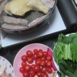 IMG 0055 150x150 - 各種の肉を焼きながらトマト焼きとかラッキョの梅酢漬けとか