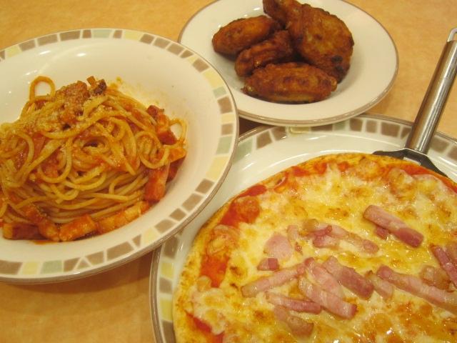 IMG 0016 1 - いつものピザパスタチキンを食べて自宅で合鴨スモーク
