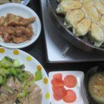 IMG 0019 150x150 - 豚&鶏を青梗菜で炒めて自宅栽培な紫蘇入り餃子と共に晩御飯