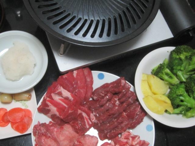 IMG 0021 - 久々に焼肉プレートを使用しての自宅焼肉開催です