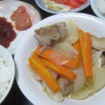 IMG 0022 1 150x150 - 筋子とタラコとニンジン+タマネギに鶏肉の煮込み