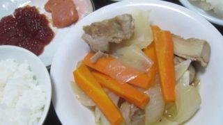 IMG 0022 1 320x180 - 筋子とタラコとニンジン+タマネギに鶏肉の煮込み