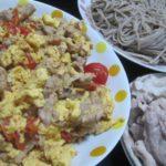 IMG 0025 1 150x150 - 卵とトマトと豚肉を炒めて蕎麦と一緒にずずずずずー