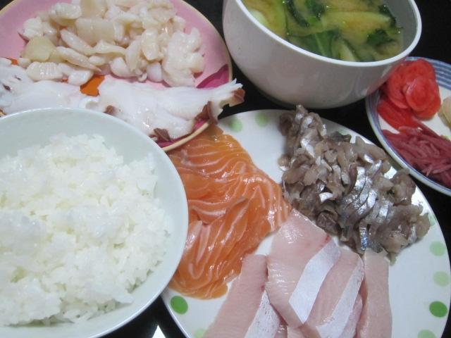 IMG 0029 - 生魚を食べたい欲求が臨界突破したので刺身晩飯