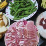 IMG 0047 150x150 - 筋子と生ハムとチーズと枝豆と切って炙ったフランスパン
