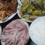 IMG 0006 150x150 - 当たりのニシンの刺身にアナスタシアとパプリカと豆もやしの炒め物