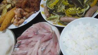 IMG 0006 320x180 - 当たりのニシンの刺身にアナスタシアとパプリカと豆もやしの炒め物