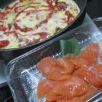IMG 0033 150x150 - 自宅ピザにこんもりチーズ乗せて焼いてスモークサーモンを後乗せ