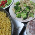 IMG 0032 150x150 - アジのタタキと鶏皮ブロッコリーに二日連続の焼きそばで今日は太麺