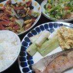 IMG 0071 150x150 - ネギ焼きとハム野菜炒めとシャケのムニエル