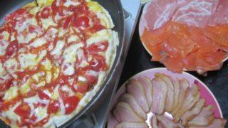 IMG 0073 320x180 - 生ハムとスモークサーモンに鴨ロースも追加した自宅ピザ
