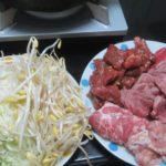 IMG 0075 150x150 - 牛と豚と鶏と豆もやしにキャベツの千切りで蒸し焼肉