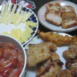 IMG 0092 150x150 - ボタン海老と鶏の揚げ物各種にチーズとパンロール