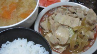 IMG 0001 320x180 - 一晩経って味が染み込んだ絹豆腐とニンジンとダイコンの味噌汁