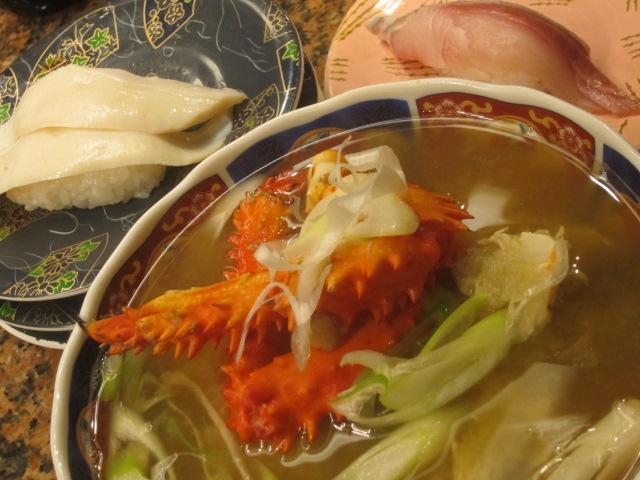 IMG 0003 - 花咲ガニのアラ汁とか啜りながらの根室花まる回転寿司