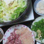 IMG 0020 150x150 - 鶏胸肉と豚肩肉でネギ&白菜鍋しゃぶ