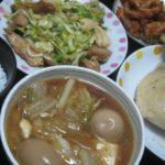 IMG 0021 150x150 - 鍋の残りのよくわからない汁物とレタス&鶏肉の炒め物