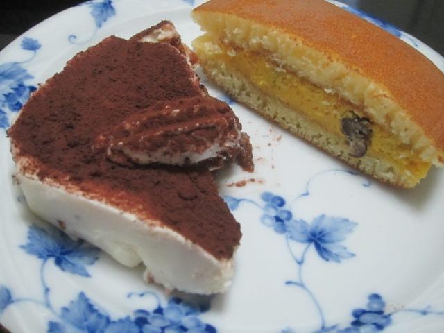 IMG 0031 - パンプキンの手巻きロールとかぼちゃクリームどら焼き